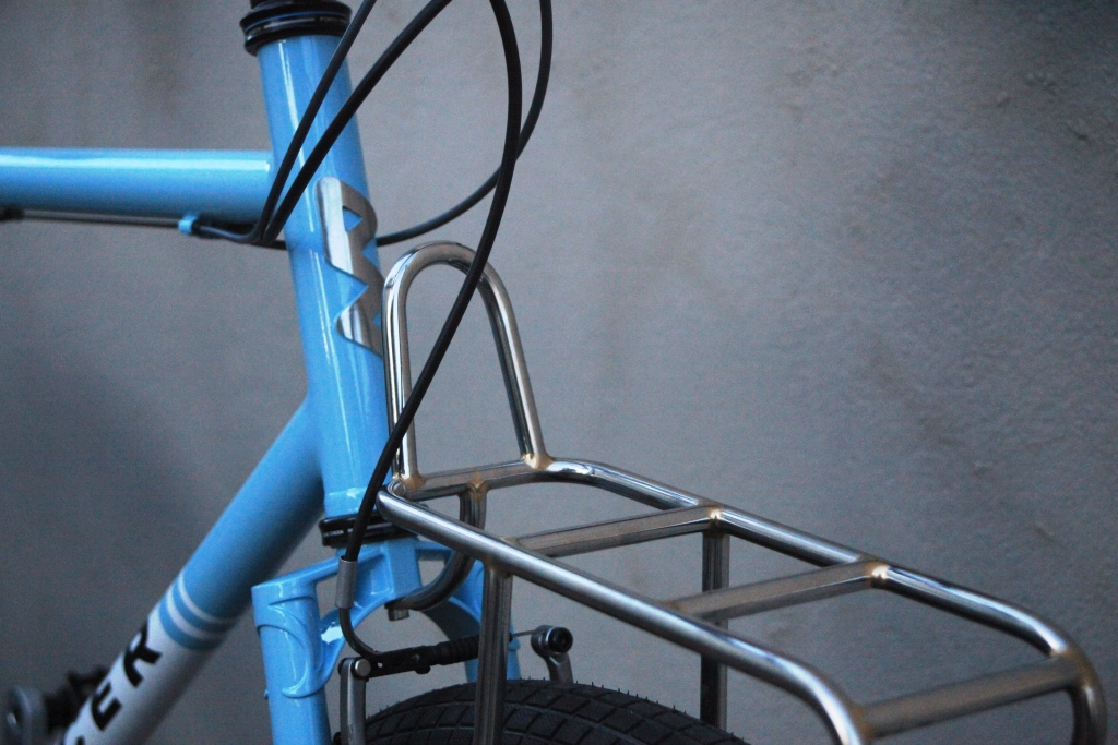 Fork crown and rack