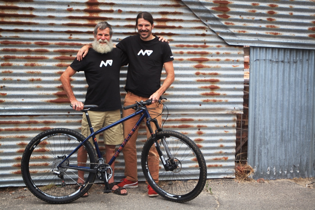 Me, dad and new bike