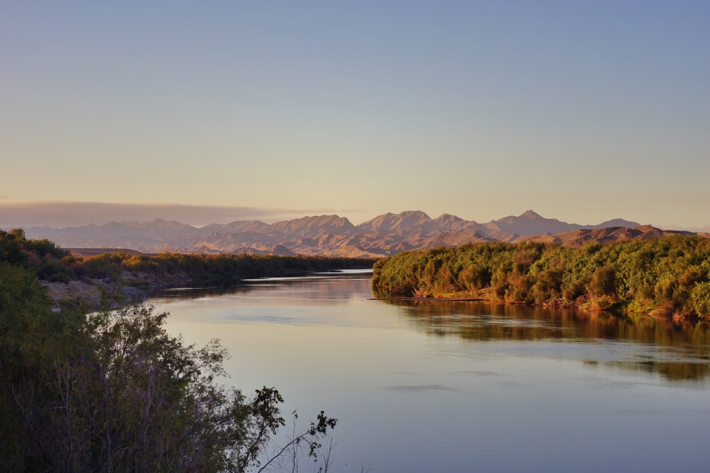 Orange river bliss