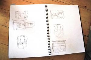 Pannier drawings