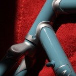 Themba Head tube detail