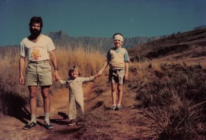 colin, dave, claire - hiking-berg